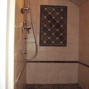 Shower Tiled